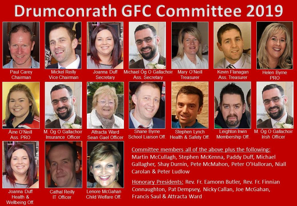 GFC Officers 2019